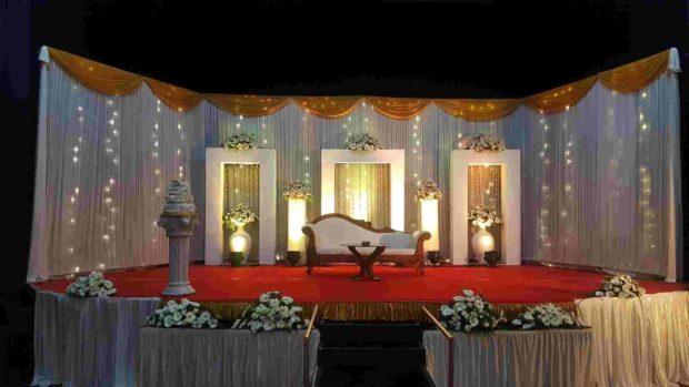 Wedding Stage Decoration Thoughts Pathanamthitta